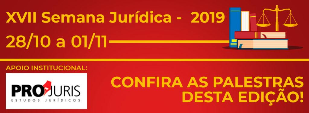 XVII Semana Jurídica - Banner Rotativo 1280x470px