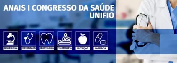 Anais I Congresso da Saúde UNIFIO